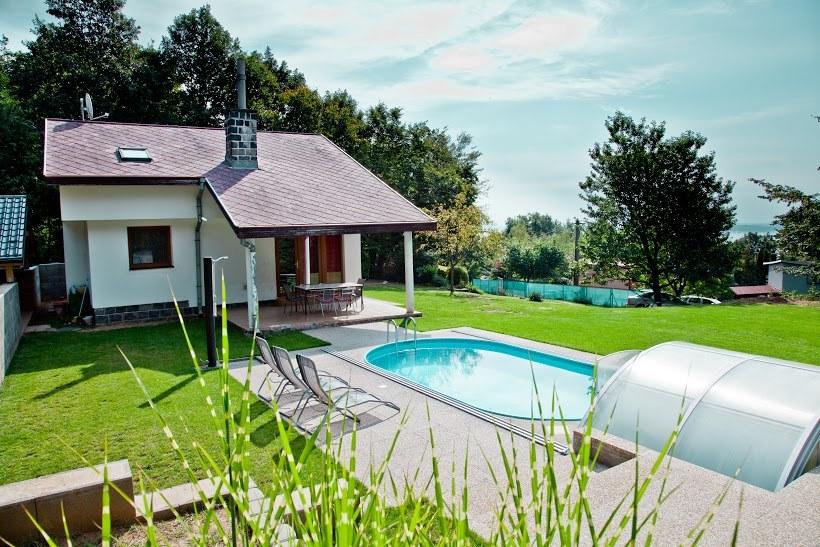 Chata s bazénom na Zemplínskej šírave (22-KA103
